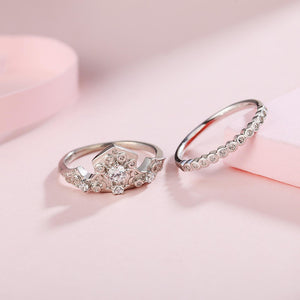 Load image into Gallery viewer, Disney® Princess Aurora 2-in-1 Crown Ring