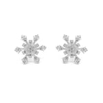 Disney® Hideko Stellar Snowflakes Stud Earrings