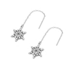 Disney® Henleigh Classic Snowflakes Threaded Earrings