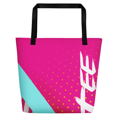 All-Over Print Beach Bag