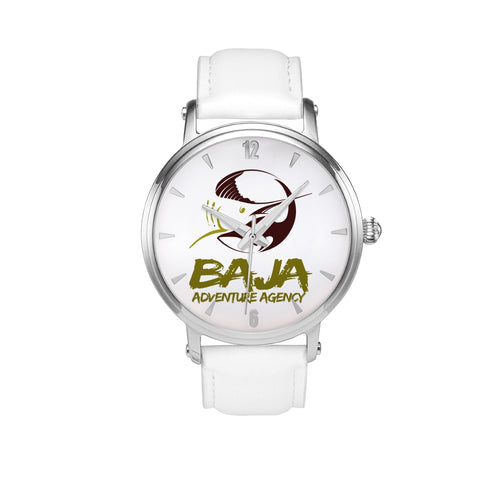 Baja Adventure Agency - Automatic Watch w/leather band
