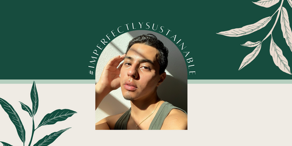 Imperfectly Sustainable interview with Sebastian on his skincare and sustainability journey