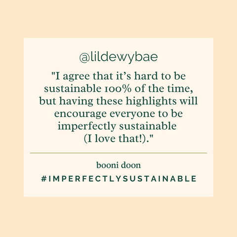 Hanah's #ImperfectlySustainable Interview