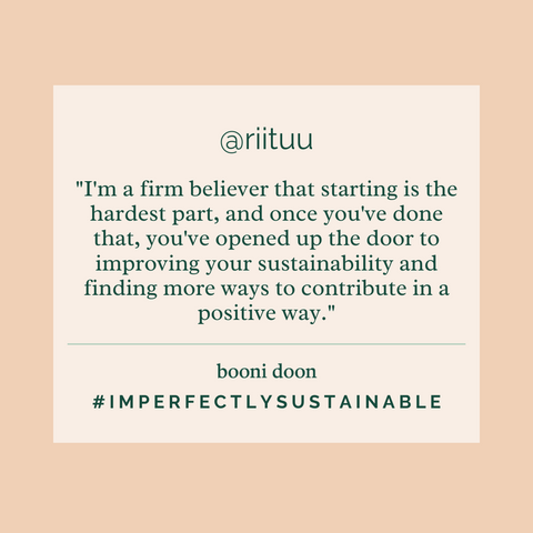 Ritu's #ImperfectlySustainable Interview