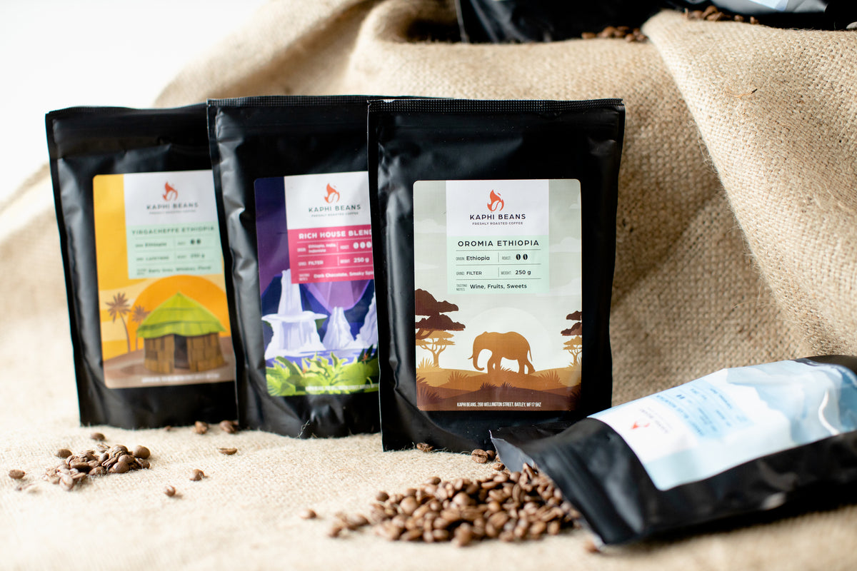 Coffees from around the world, roasted in Yorkshire & delivered to your door.