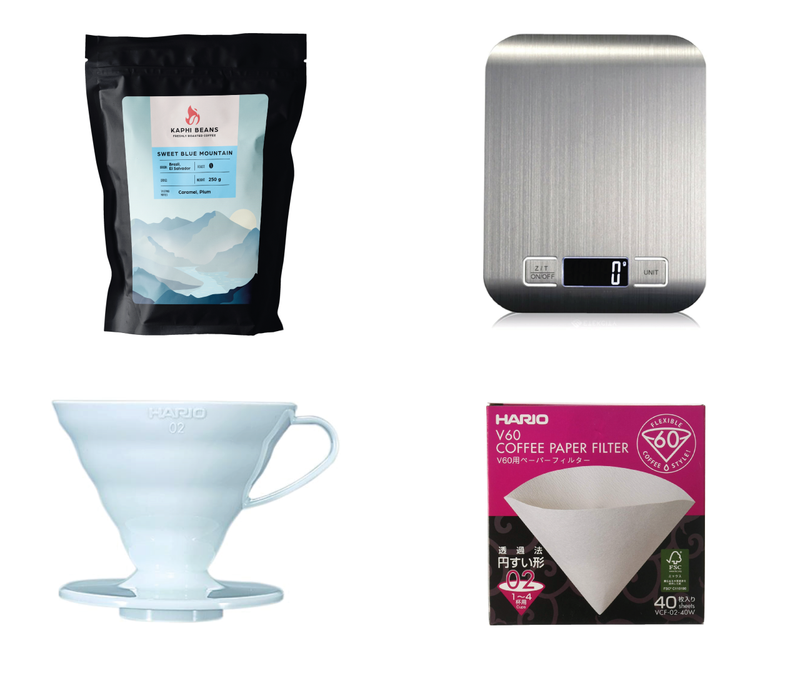 Filter coffee starter pack