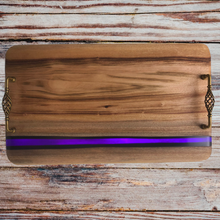 Load image into Gallery viewer, River Platter Camphor Laurel - Purple