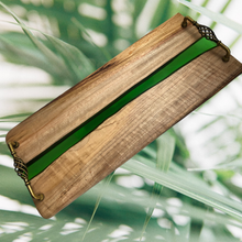 Load image into Gallery viewer, River Platter Camphor Laurel - Chartreuse-SOLD