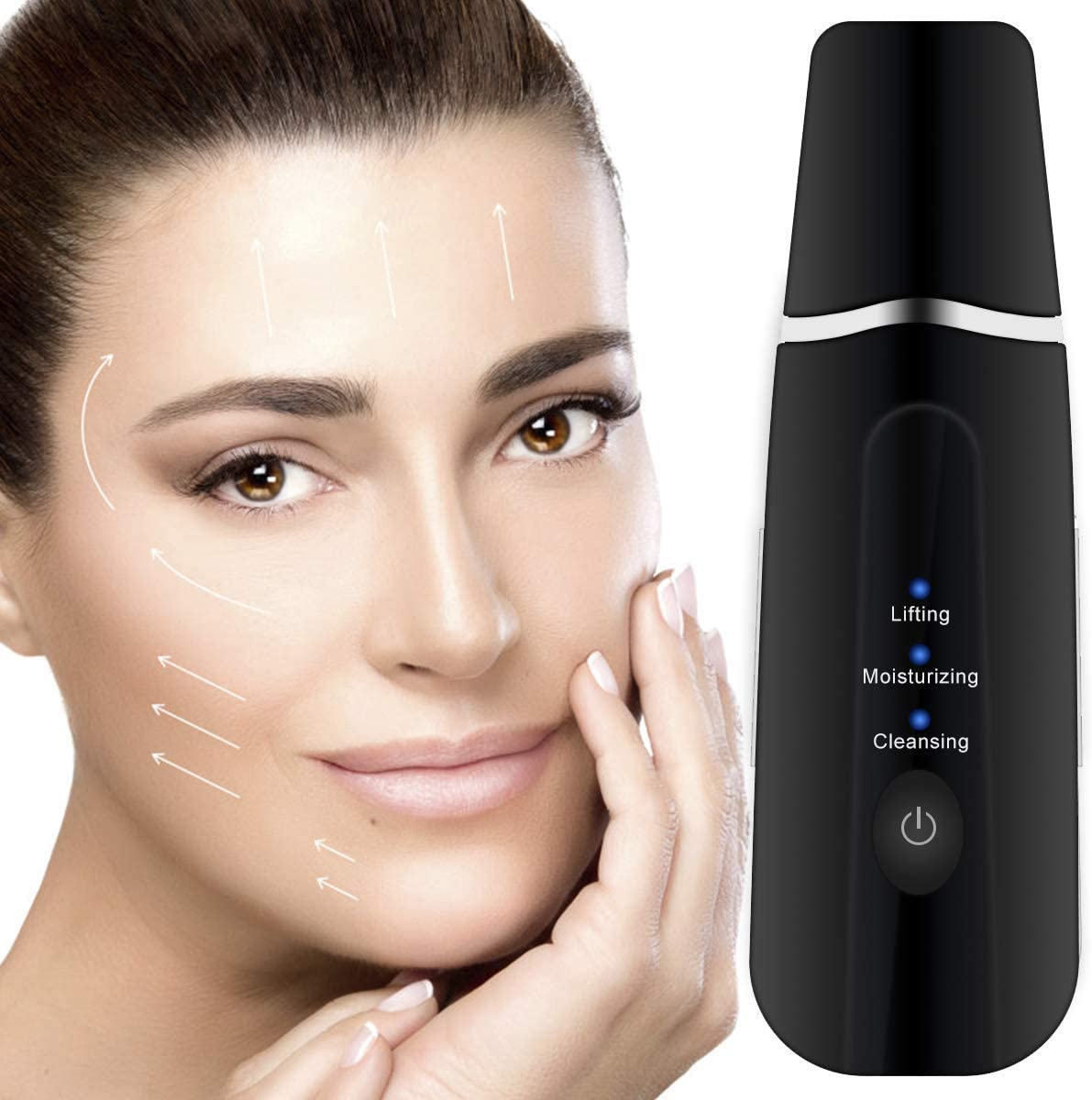 Professional Ultrasonic Facial Skin Scrubber - Backealth