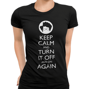 Keep Calm And Turn It Off And On Again - Getting Shirty
