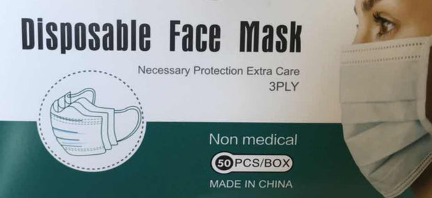 Face Mask - Disposable