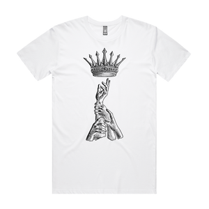 King of Eve - Mens White T-Shirt