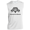 Diamond Cut Muscle Sleeveless Performance T-Shirt - Diamond Cut Muscle Apparel