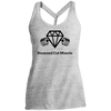 Ladies' Cosmic Twist Back Tank - Diamond Cut Muscle T-Shirts