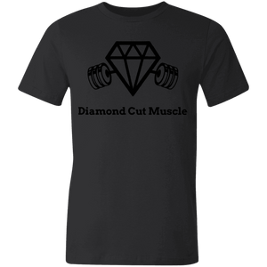 Unisex Made in the USA Jersey Short-Sleeve T-Shirt - Diamond Cut Muscle T-Shirts