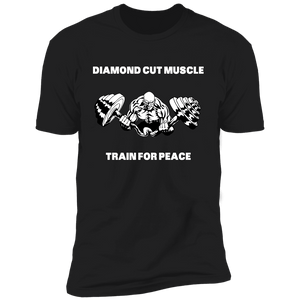 Diamond Cut Muscle Premium Short Sleeve T-Shirt - Diamond Cut Muscle Apparel
