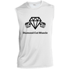 Sleeveless Performance T-Shirt - Diamond Cut Muscle T-Shirts