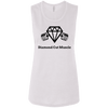 Ladies' Flowy Muscle Tank - Diamond Cut Muscle T-Shirts