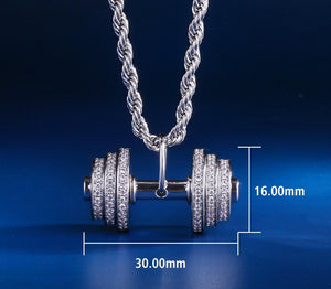 Exercise & Fitness Bodybuilding Jewelry - Diamond Cut Muscle Jewelry