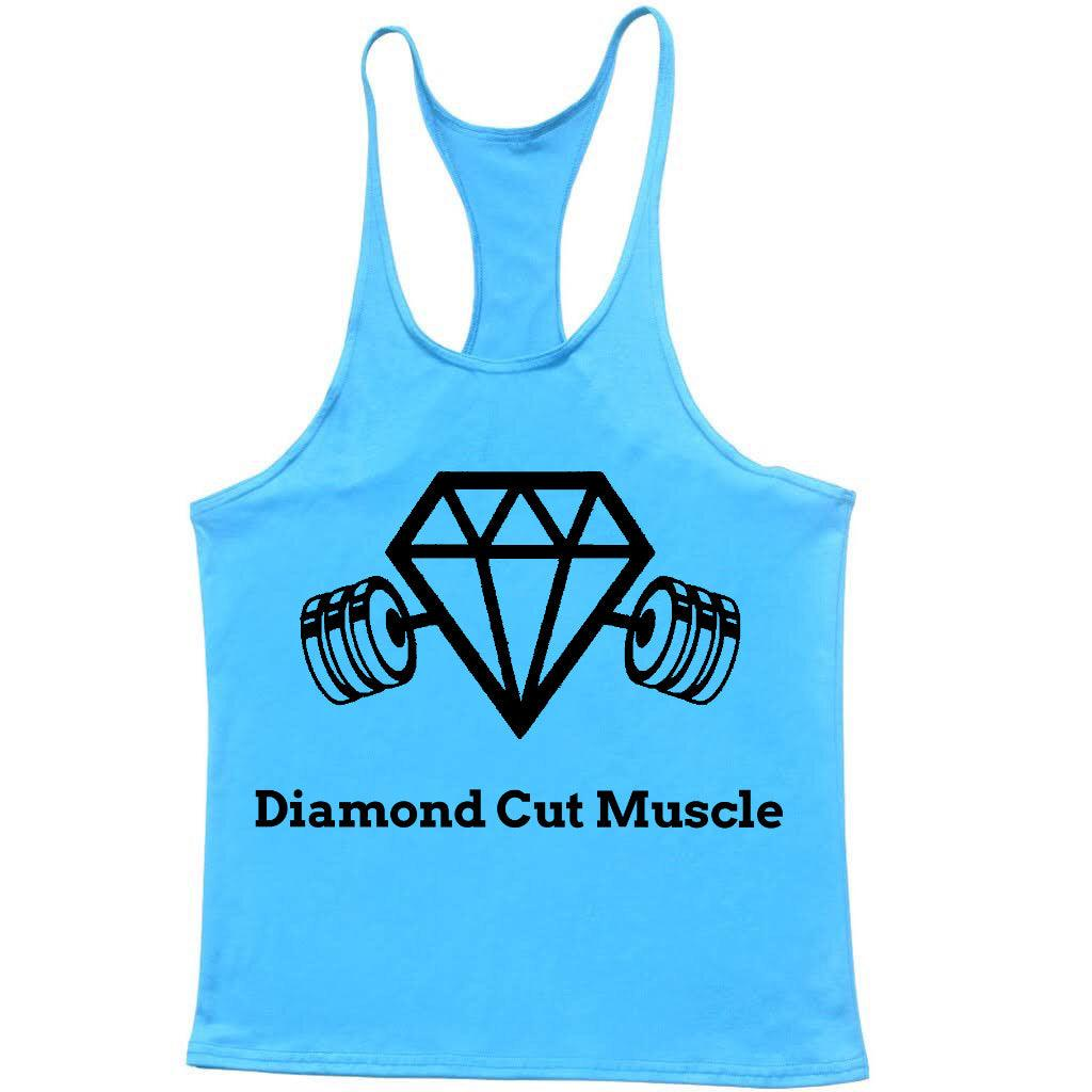 Diamond Cut Muscle New Men's Bodybuilding Gym T-Shirt - Diamond Cut Muscle Fitness Weight Training