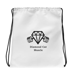 Diamond Cut Muscle Drawstring Bag - Diamond Cut Muscle Drawstring Gym Bag