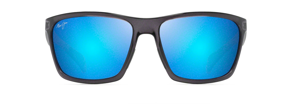 MAUI JIM B804-14G BLUE MAKOA DARK TRANSLUCENT GREY