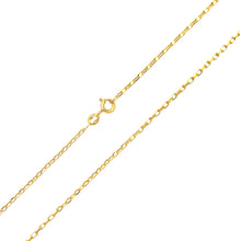 Load image into Gallery viewer, 9ct Yellow Gold 2.6g Belcher Necklace of 20 Inch/51cm Length and 0.1cm Width