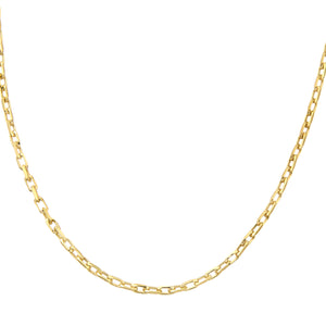 9ct Yellow Gold 5.0g Belcher Necklace of 18 Inch/46cm Length and 0.2cm Width