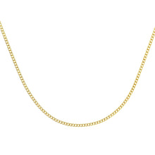 Load image into Gallery viewer, 9ct Yellow Gold  2.0g Curb Chain Necklace of 20 Inch/51cm Length
