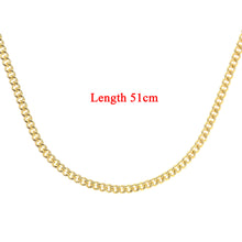 Load image into Gallery viewer, 9ct Yellow Gold  6.8g Curb Chain Necklace of 20 Inch/51cm Length