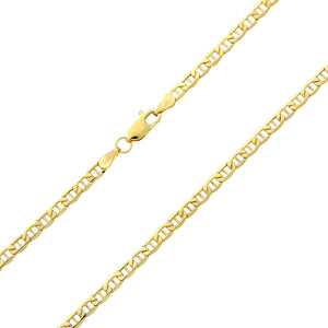 9ct Yellow Gold Fine Anchor Chain of 20 Inch/51cm Length and 0.3cm Width