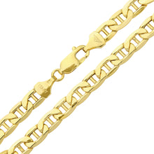 Load image into Gallery viewer, 9ct Yellow Gold Wide Anchor Bracelet of 8.5 Inch/21.6cm Length and 0.6cm Width