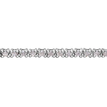 Load image into Gallery viewer, Diamond Tennis Bracelet, 18ct White Gold I/SI Round Brilliant Certified Diamond Bracelet, 1.00ct Diamond Weight
