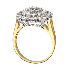 Load image into Gallery viewer, 18ct Yellow Gold Ladies Diamond Ring