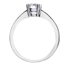 Load image into Gallery viewer, Engagement Ring, 18ct White Gold H/SI Round Brilliant Certified Diamond Ring, 0.75ct Diamond Weight