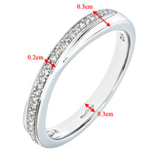 Load image into Gallery viewer, Ladies 9ct White Gold Diamond Eternity Ring