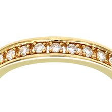 Load image into Gallery viewer, 18ct Yellow Gold Half Carat Diamond Full Eternity Ring