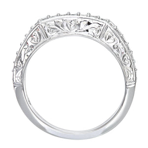 9ct White Gold 0.35ct Diamond Fancy Eternity Ring