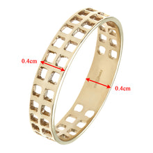 Load image into Gallery viewer, 9ct Yellow Gold Ladies Band Ring