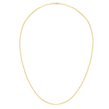 "Load image into Gallery viewer, 9ct Yellow Gold 2.3g Curb Necklace, 51cm/20"" Length, 1.8mm Width"
