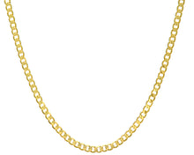 "Load image into Gallery viewer, 9ct Yellow Gold 14.9g Curb Necklace, 56cm/22"" Length, 5.1mm Width"
