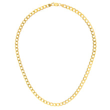 "Load image into Gallery viewer, 9ct Yellow Gold 24.5g Curb Necklace, 71cm/28"" Length, 6mm Width"