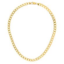 "Load image into Gallery viewer, 9ct Yellow Gold 29.5g Curb Necklace, 51cm/20"" Length, 7.3mm Width"