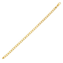 "Load image into Gallery viewer, 9ct Yellow Gold 8.5g Curb Bracelet, 22cm/8.5"" Length, 6.2mm Width"