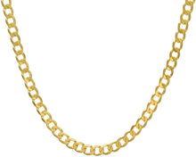 "Load image into Gallery viewer, 9ct Yellow Gold 51g Curb Necklace, 71cm/28"" Length, 7.8mm Width"