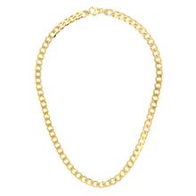 "Load image into Gallery viewer, 9ct Yellow Gold 55.4g Curb Necklace, 61cm/24"" Length, 8.3mm Width"