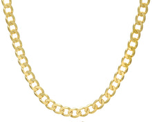 "Load image into Gallery viewer, 9ct Yellow Gold 66.2g Curb Necklace, 51cm/20"" Length, 10mm Width"