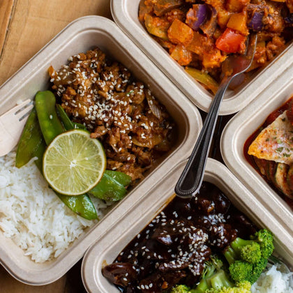 Fresh and Healthy Prepped Meals