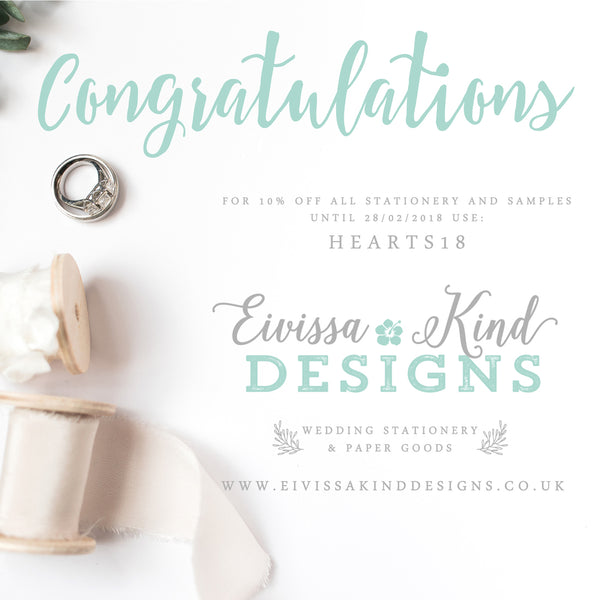 Here's 10% Off Wedding Invitation, Samples and more...