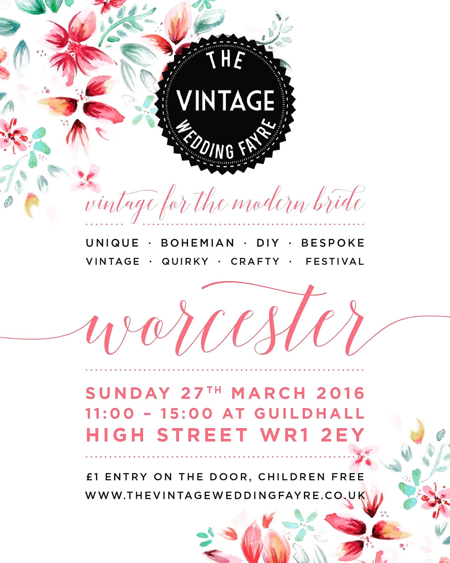 The Vintage Wedding Fayre, Worcester